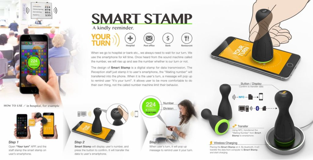 Smart Stamp Reminder Device