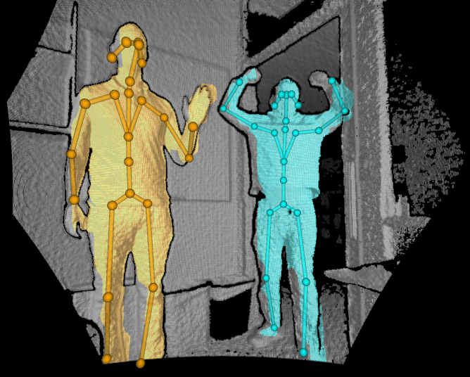 kinect body tracking