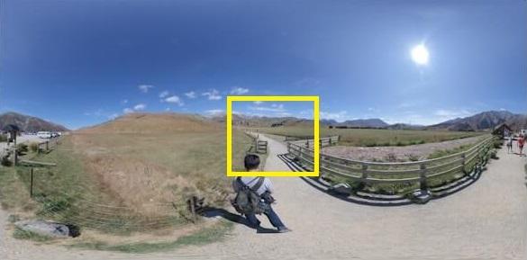 設定360度影片起始畫面