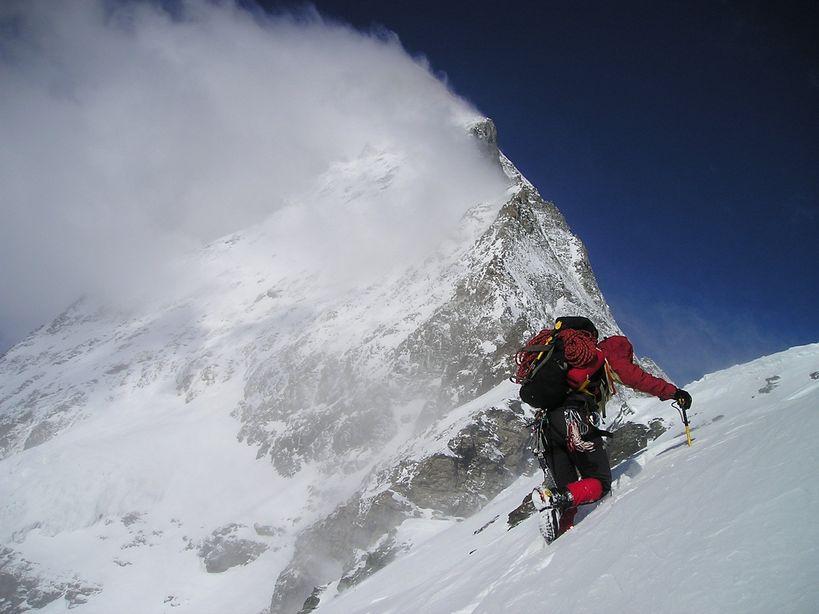 登山者的過程紀錄片