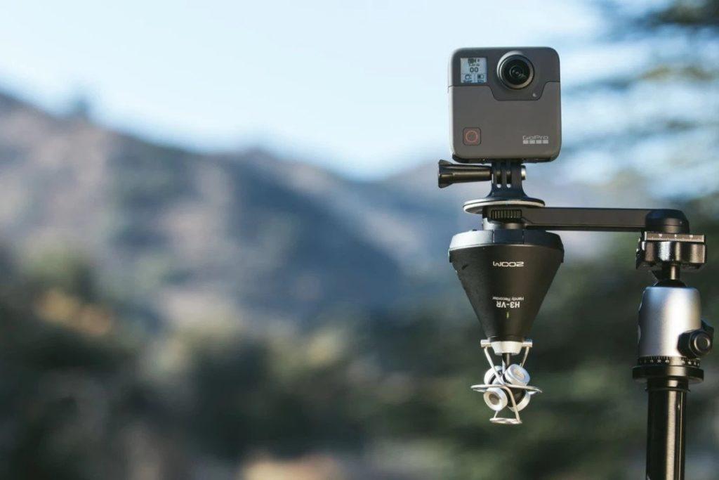 h3-vr 360相機安裝方式