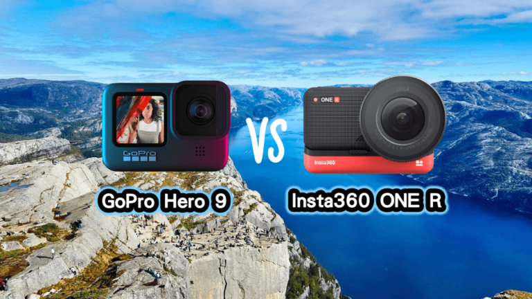 gopro hero 9 vs insta360 one r