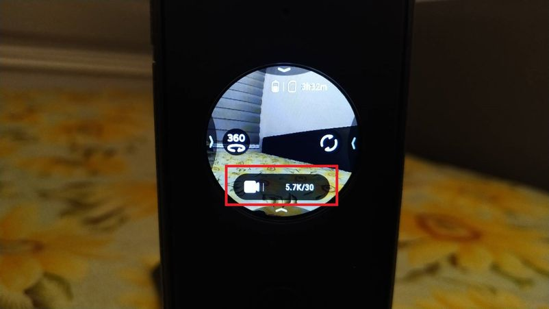 insta360 one x2觸控螢幕設計