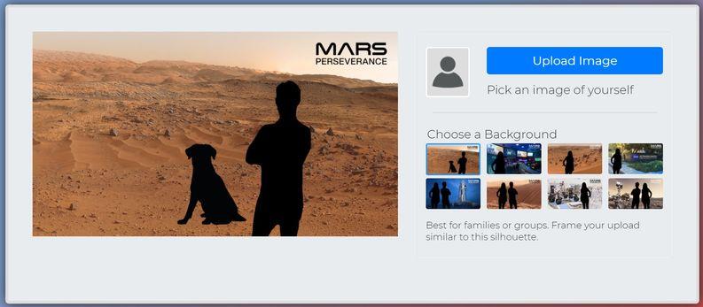 火星任務選擇照片和預覽