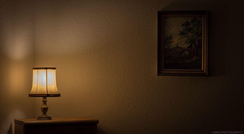 補光燈放在環境裡面