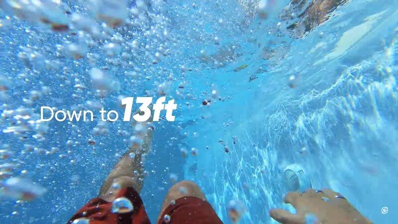 Insta360 GO 2完全防水可達4米(加裝保護鏡)