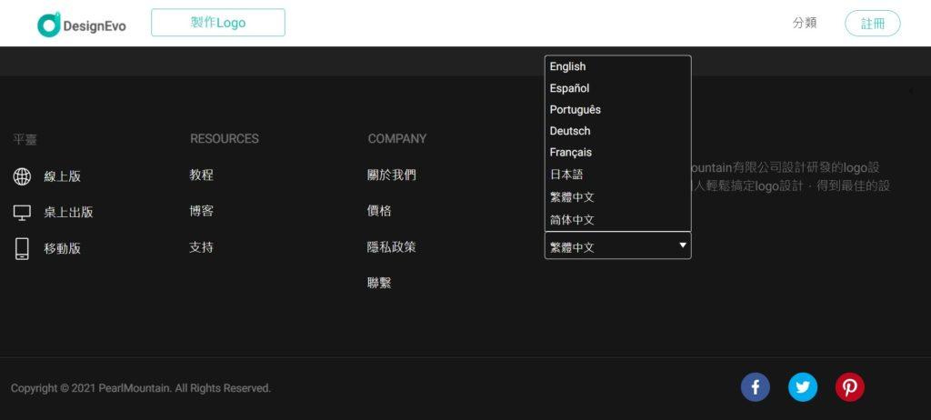 中文化操作介面