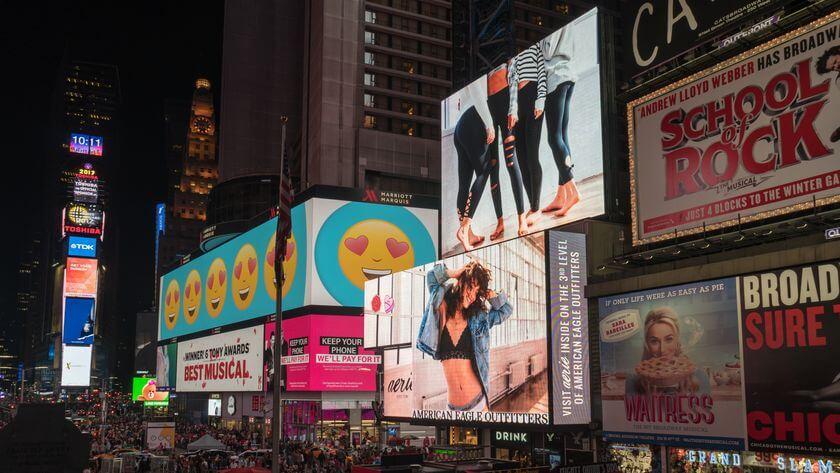 大螢幕看板廣告