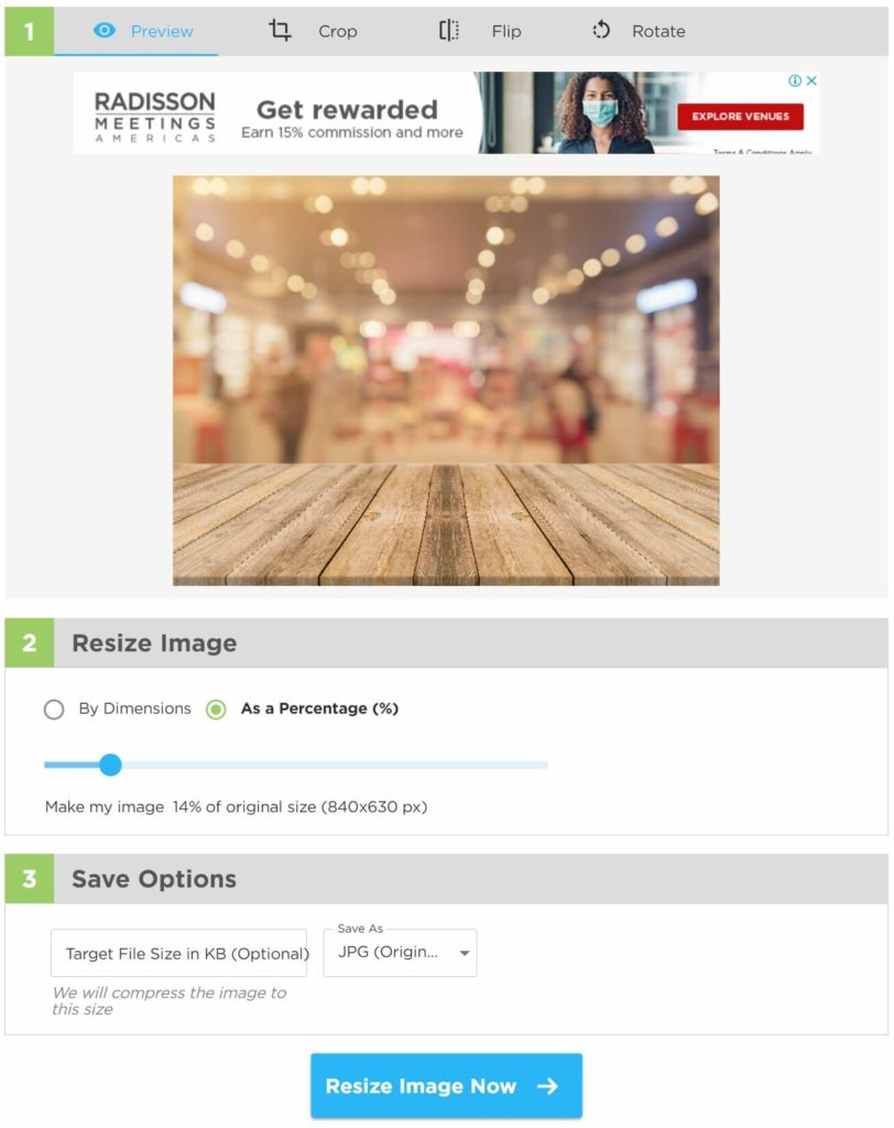 Image Resizer調整照片圖檔尺寸比例
