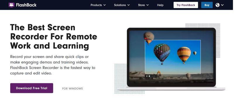 FlashBack螢幕錄影軟體