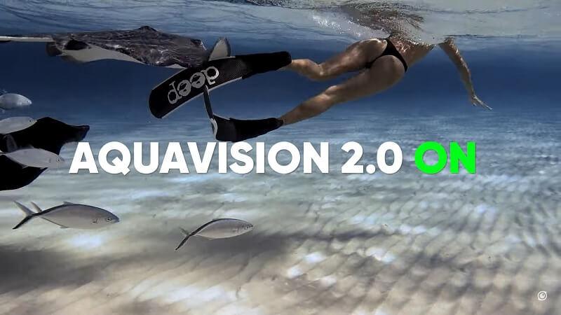 Insta360重大升級:水下色彩還原2.0 (Aquavision)